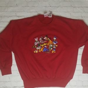 Disney Stitched-Graphic Sweater